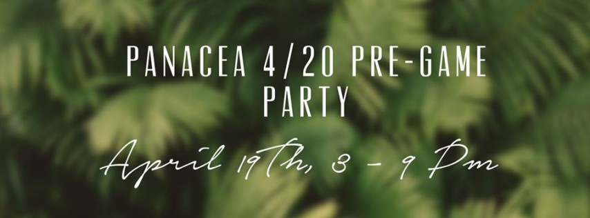 4/20 Pre-game Party
