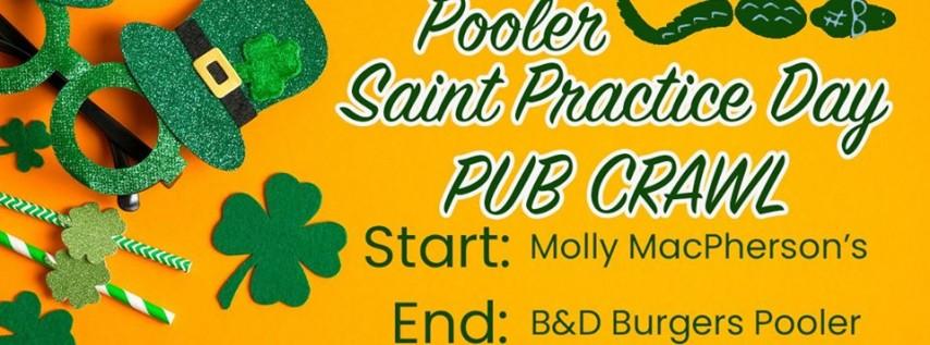 Pooler St. Practice Day Pub Crawl