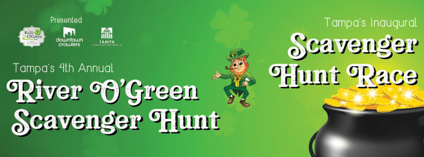 4th Annual Mayor's River O'Green Scavenger Hunt & Races- POSTPONED UNTIL FURTHER