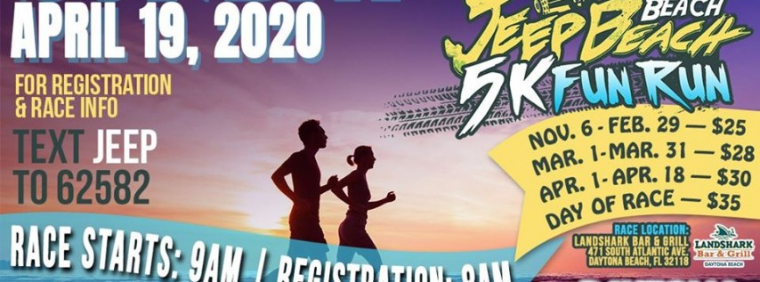 Jeep Beach 5K Run