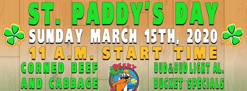 St. Paddy's Day Event