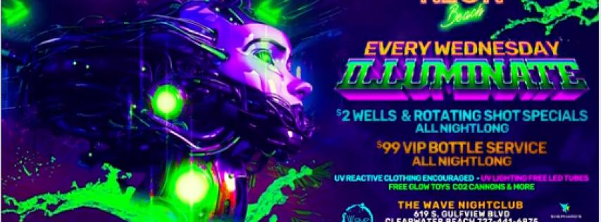Neon beach Launch party Spring break 2020