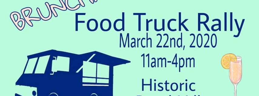 BRUNCH! Spring Food Truck Rally 2020!