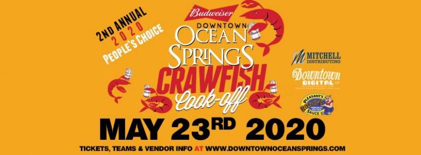 Budweiser Downtown Ocean Springs Crawfish Cook-Off 2020 People's