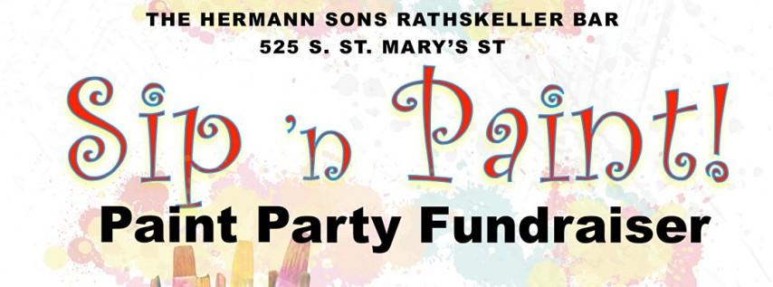 Paint 'n Sip Fundraiser
