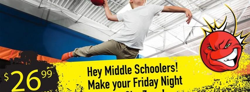 Squad Night - Glow Dodgeball Night