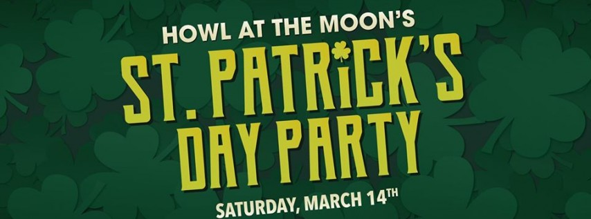 St. Patrick's Day Party at Howl at the Moon Denver!