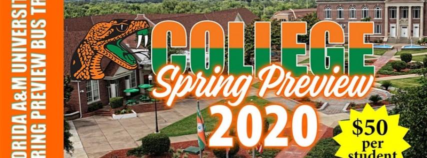 2020 FAMU Spring Preview Bus Trip