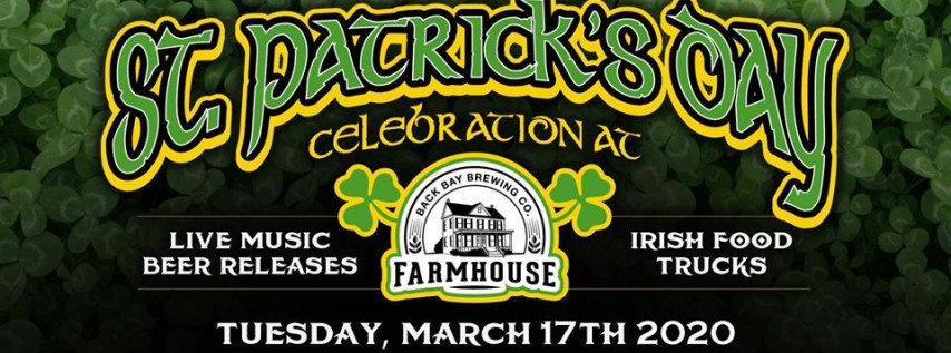 St. Patrick's Day at the Farmhouse