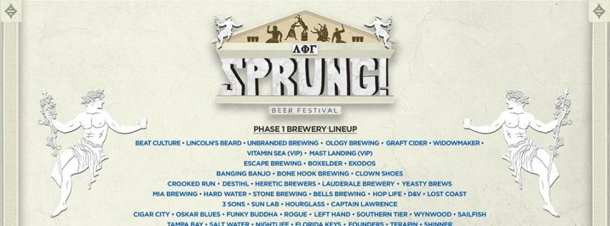 SPRUNG! Beer Festival 2020