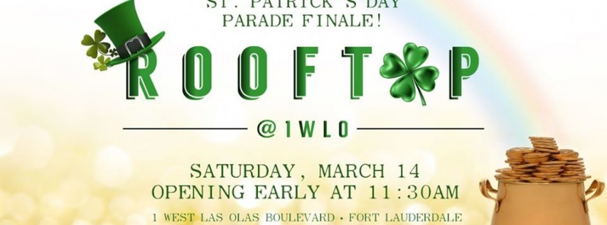 St. Patrick's Day Parade at Rooftop