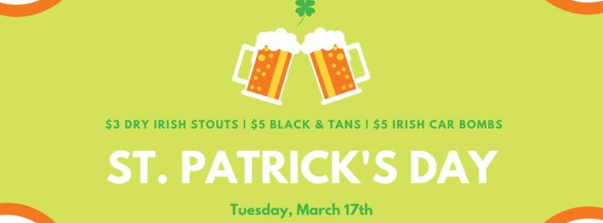 St Patrick's Day Party!