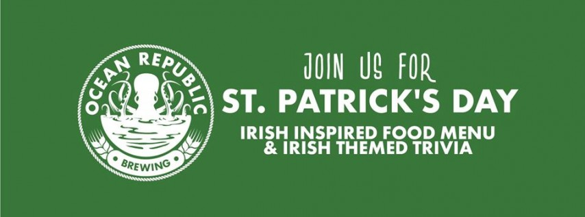 St. Patrick's Day at Ocean Republic