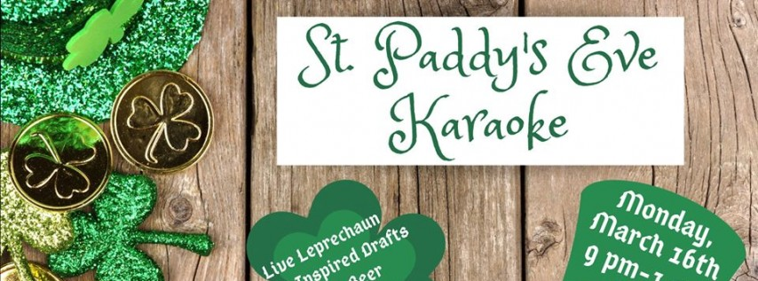 Saint Paddy's Eve Karaoke