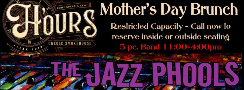 Live Jazz at H'ours - Mother's Day Brunch