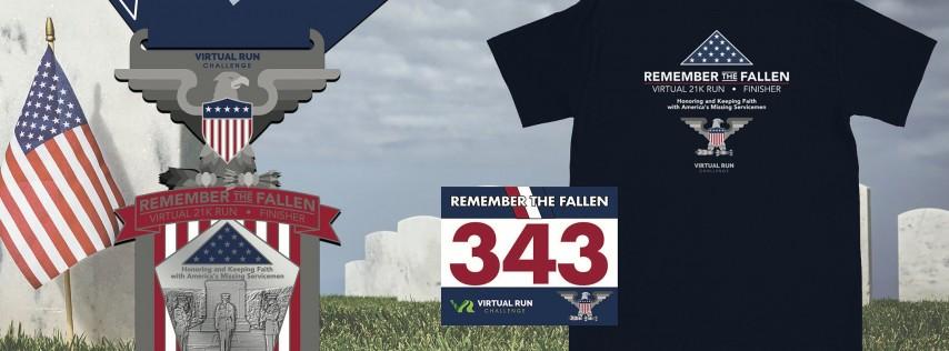 2020 - Remember the Fallen Virtual 21K  Run Walk - Orlando