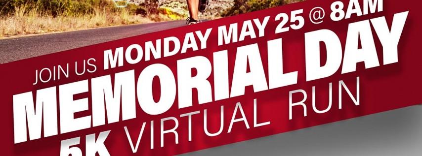 """Memorial Day """" In Memory Of """" Virtual 5K Run/Walk"""
