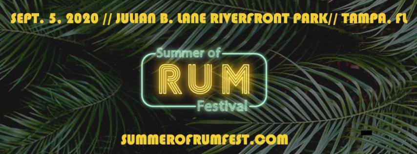 Summer of Rum Festival 2020