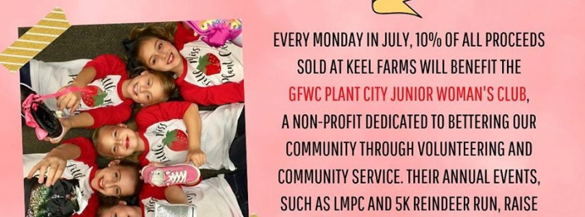 Keel Farms Give back Mondays