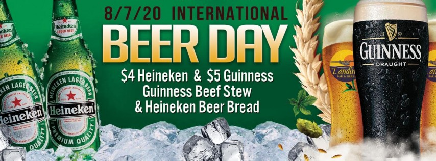 International Beer Day at The Landing