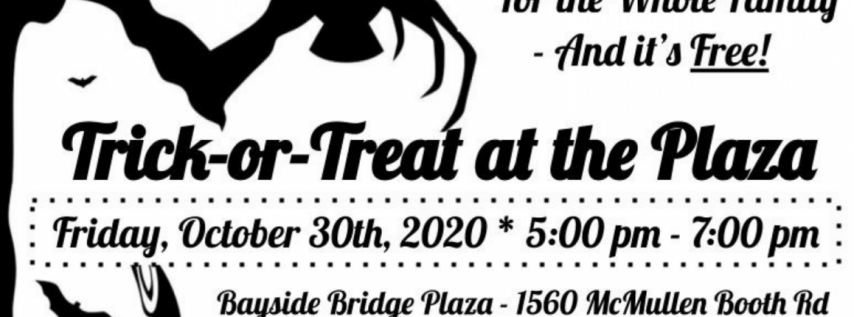Halloween Trick-Or-Treat at the Bayside Bridge Plaza in Clearwater