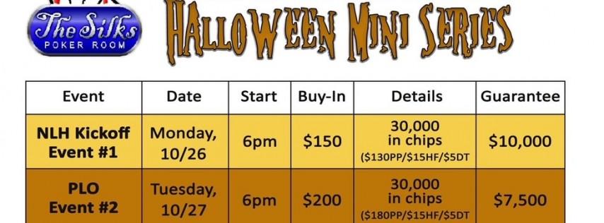 $7,5000 Halloween Mini Series-PLO Event #2!