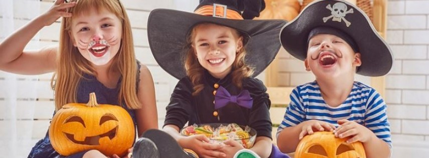 Trick-or-Treating with Trains