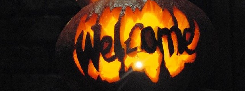 Freak or treat Halloween latin party