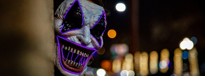Silent Headphone Bonfire X Scary Movie Night