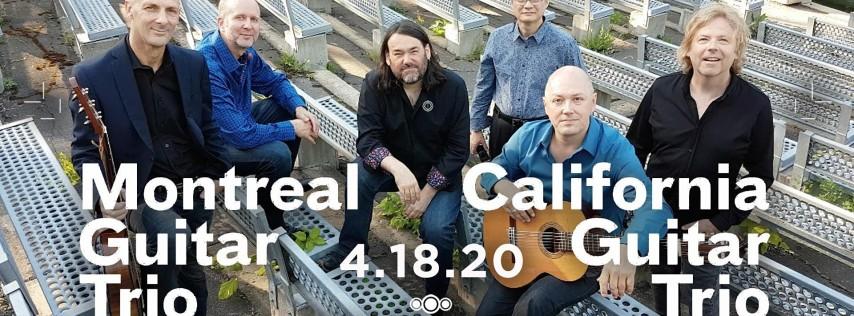 California Guitar Trio + Montreal Guitar Trio