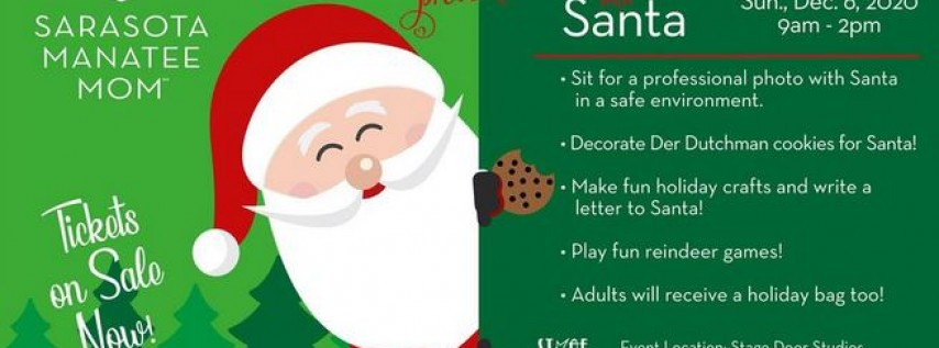 Cookies with Santa by Sarasota Manatee Mom