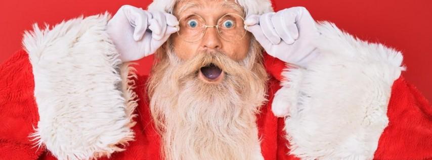 Santa Claus Visits The Florida Aquarium