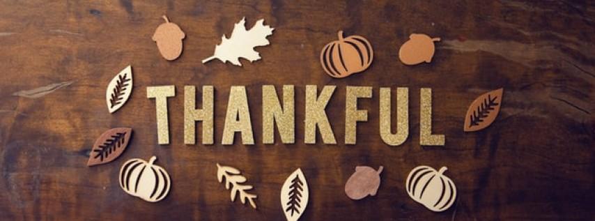 Open Thanksgiving.