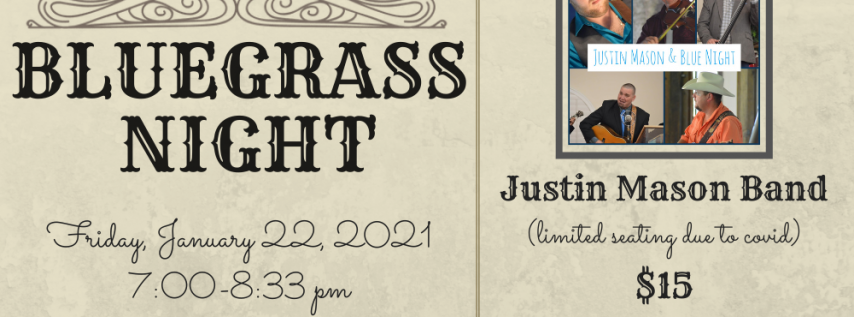 Bluegrass Night with Justin Mason Band