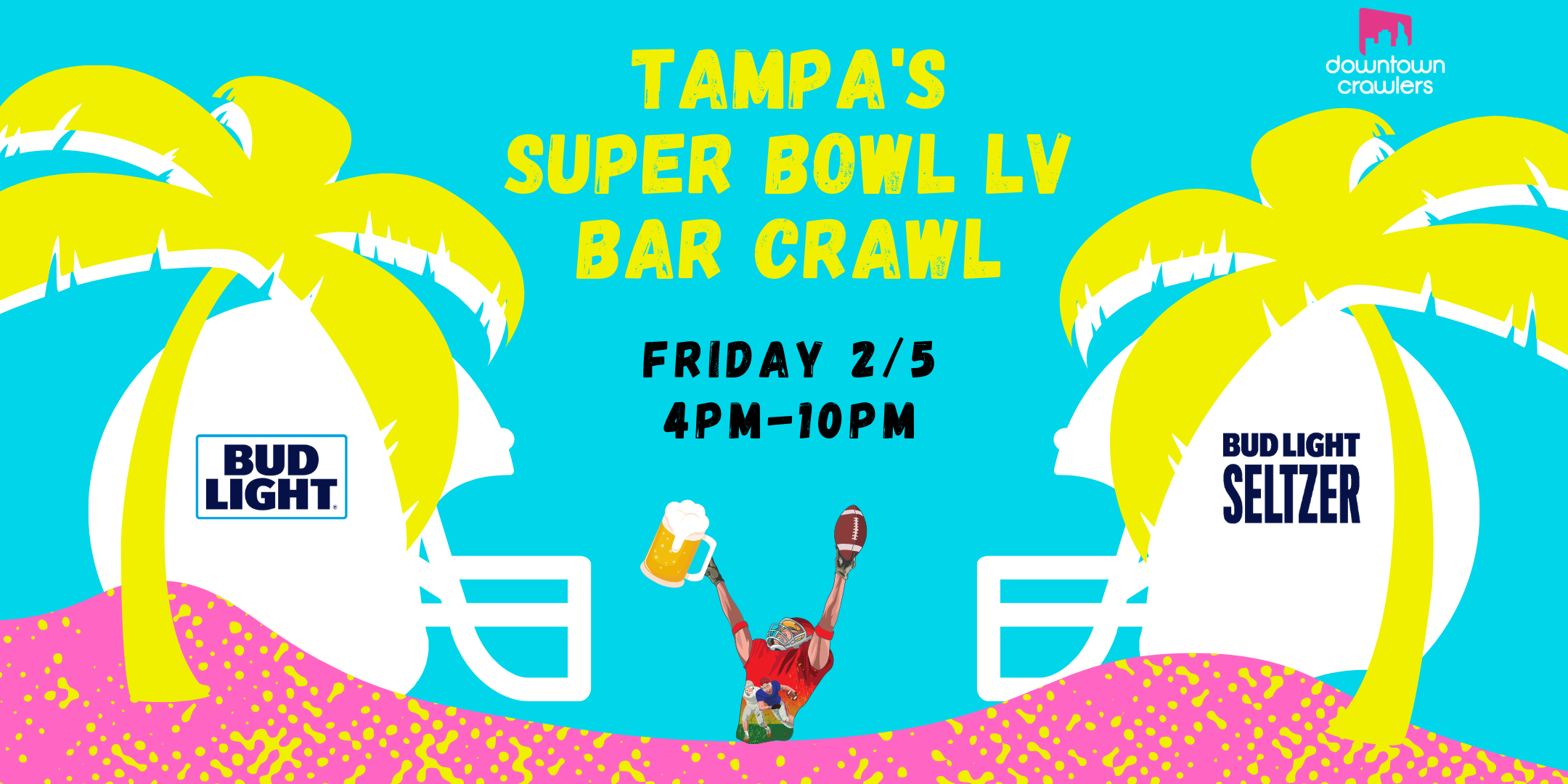 Tampa's Super Bowl LV Bar Crawl #1