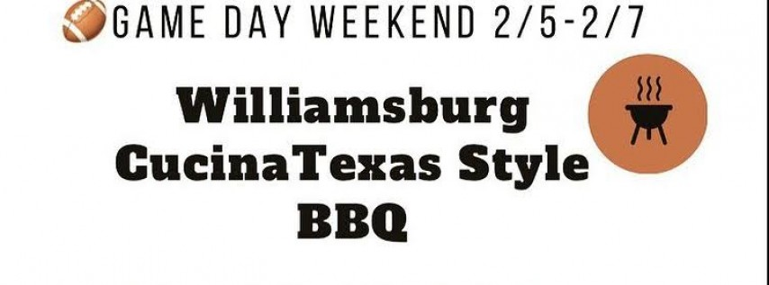 Big Game Weekend Texas BBQ Throw down