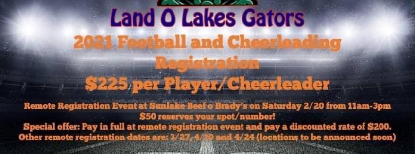 Gators Football & Cheer Family Fun Registration
