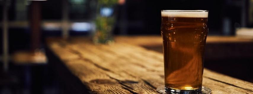Beers and Backbends at Rhythm & Vine Beer Garden