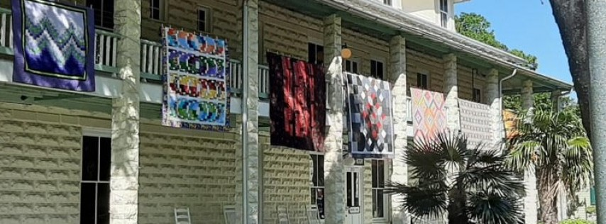 BQE & New River Artist Cooperative Mini-quilt Expo Benefiting History Fort Laude