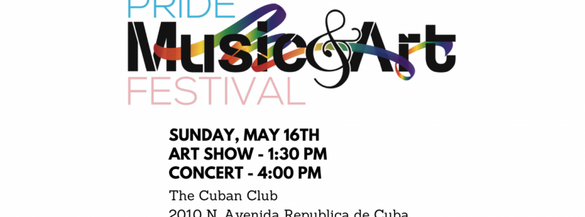 4thAnnual Pride Music and Art Festival