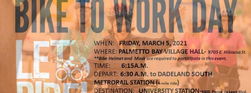 Bike305-Bike to Work Day 2021