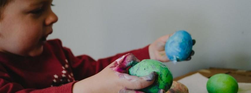Easter Egg Hunt at St. Paul Catholic Church