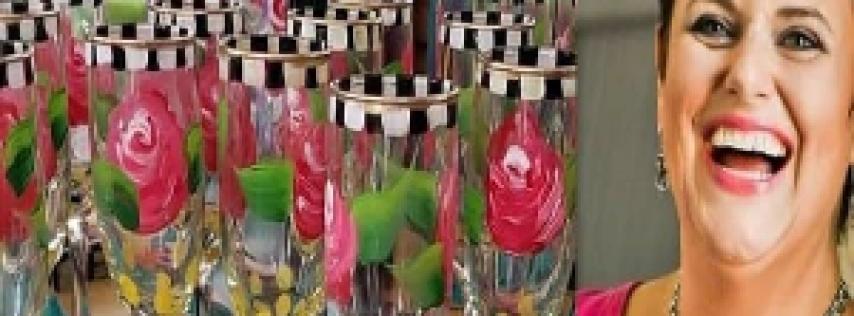 Cawfee Glass Painting night