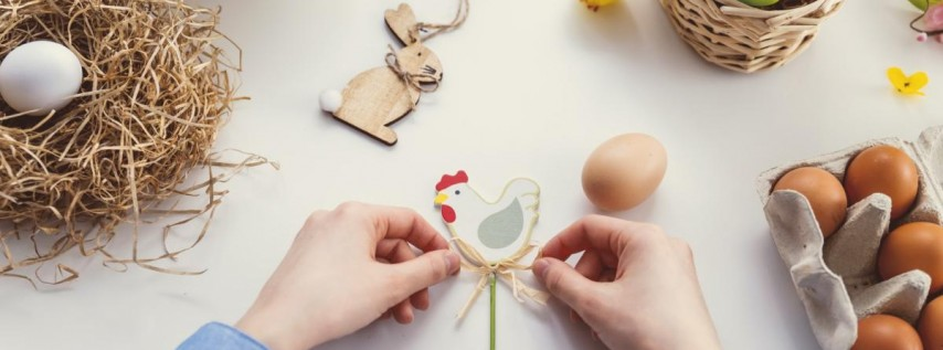 ALL Ages: Customize Your Bunny (Easter Egg Hunt!)