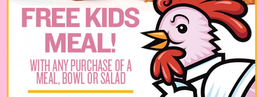 Kids Eat Free Easter Sunday at PDQ