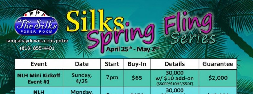 Silks Spring Fling Series April 25th-May 2nd