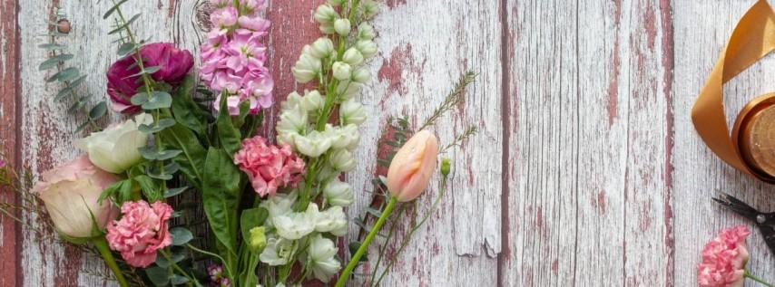 Sip and Snip - Mother's Day Flower Arranging Workshop