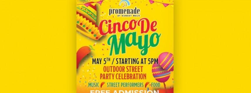 Cinco de Mayo Outdoor Street Party
