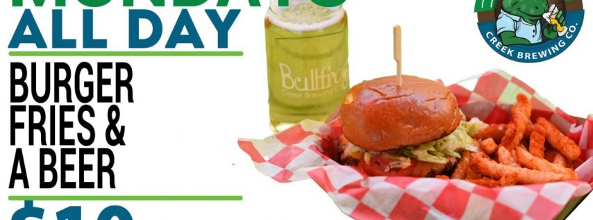 Burger & Beer Day!