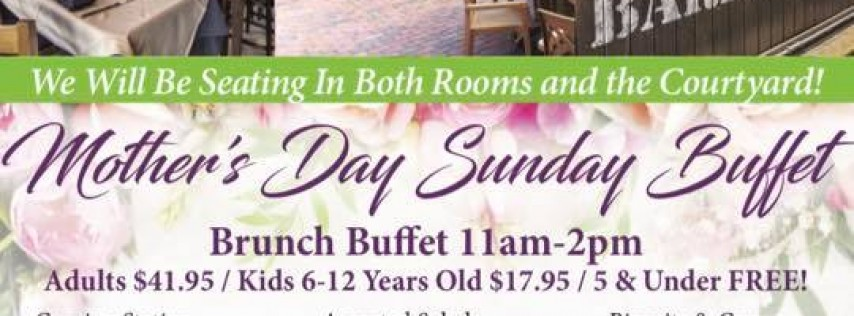 Mother's Day Sunday Buffet
